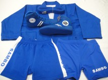 Single Sambo Uniform Set (Blue)1