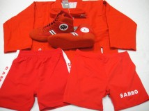 Single Sambo Uniform Set (Red)1
